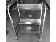 Juki electronic feeder storage cart